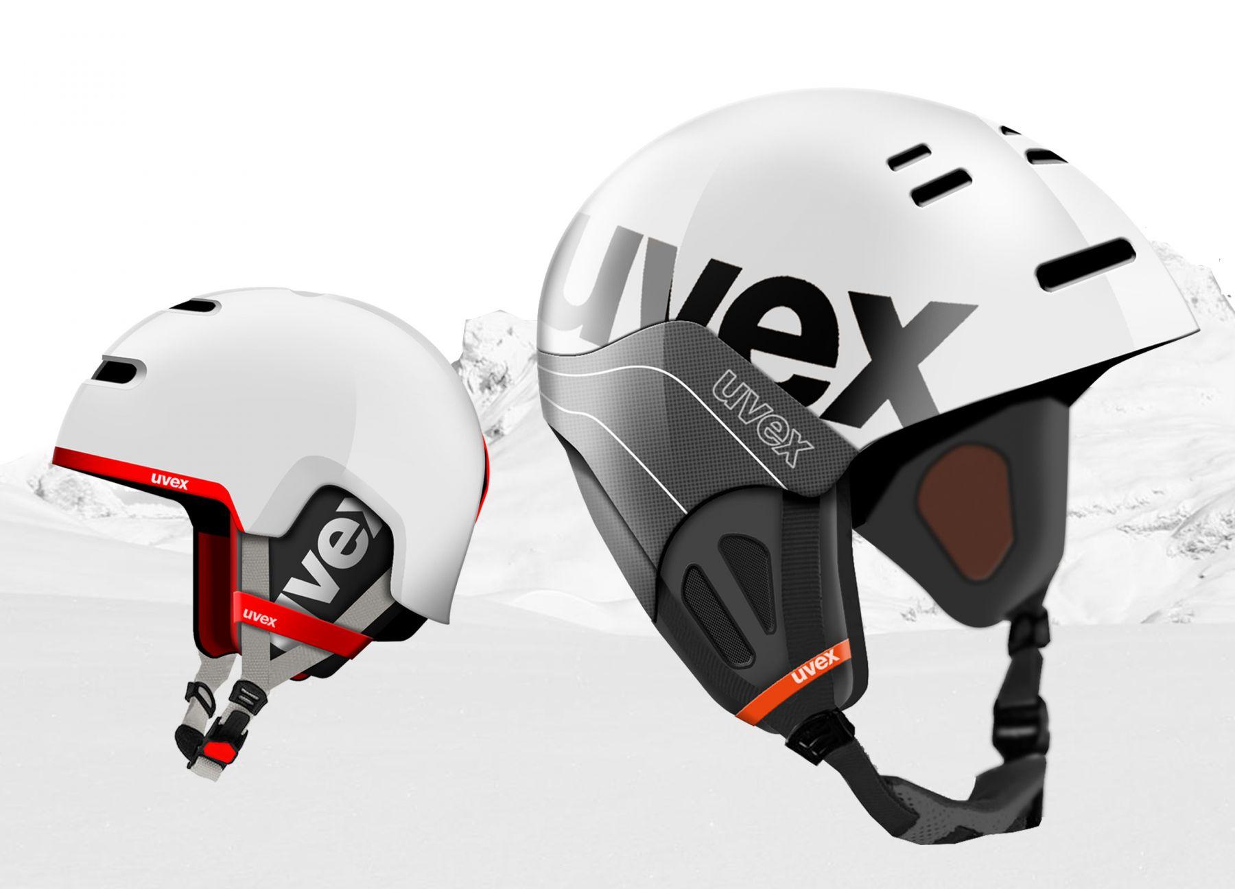 Industriedesign eines Snowboardhelms für Uvex