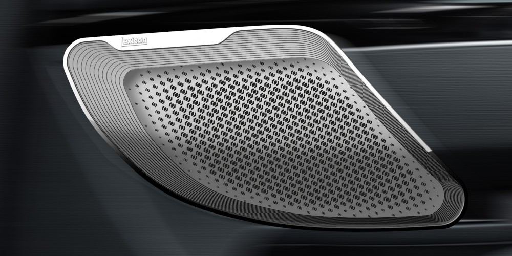Industriedesign für Harman, Audiosystem