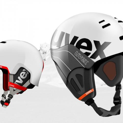 Produktdesign eines Snowboardhelms für Uvex