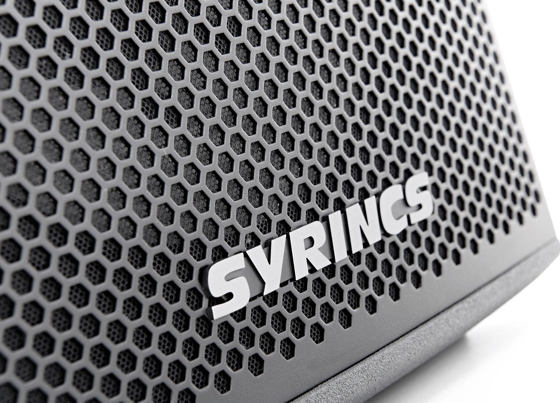Produktdesign für Syrincs, Musik und Audioequipment